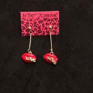 Lips and Love Earrings